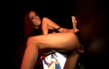 Gloryhole session with Jenna Haze